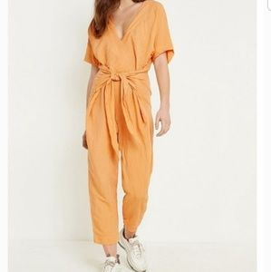 Free People Linen Shell Jumpsuit